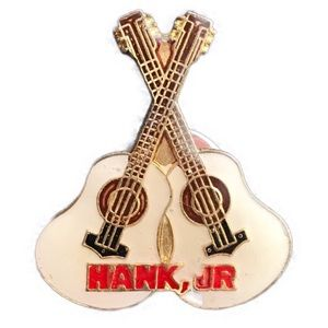 Other - Vintage Hank Jr. pin